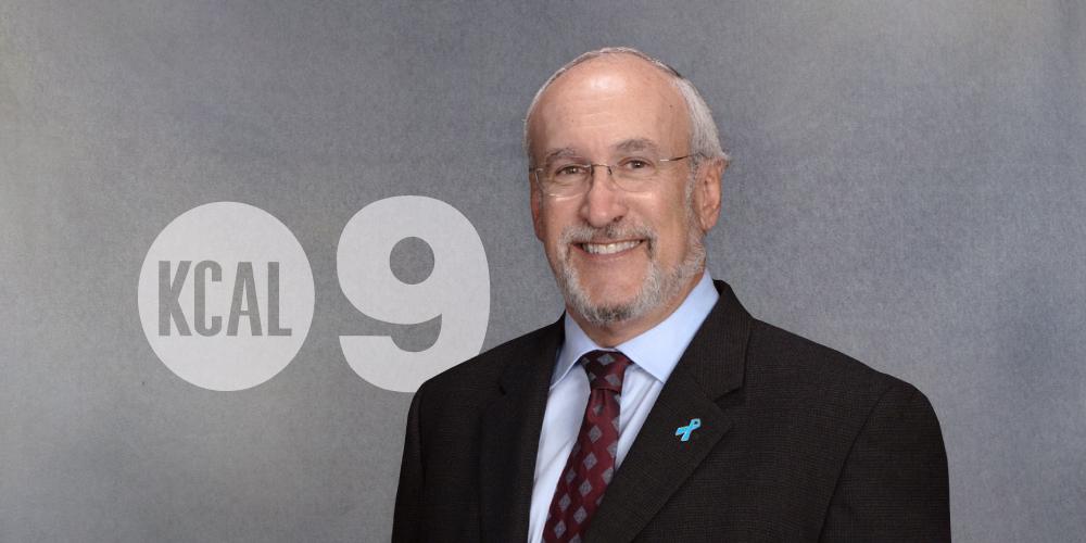 Dr. Robert Princenthal on KCAL 9